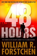 "Black Mountain resident and ""New York Times"" best selling author William Forstchen's newest book, ""48 Hours"" explores the difficult decisions facing humanity in the hours before a coronal mass ejection from the sun."