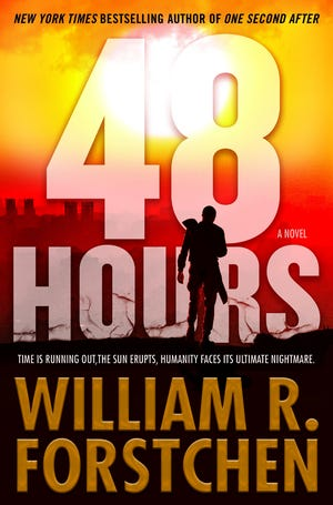 """Black Mountain resident and """"New York Times"""" best selling author William Forstchen's newest book, """"48 Hours"""" explores the difficult decisions facing humanity in the hours before a coronal mass ejection from the sun."""