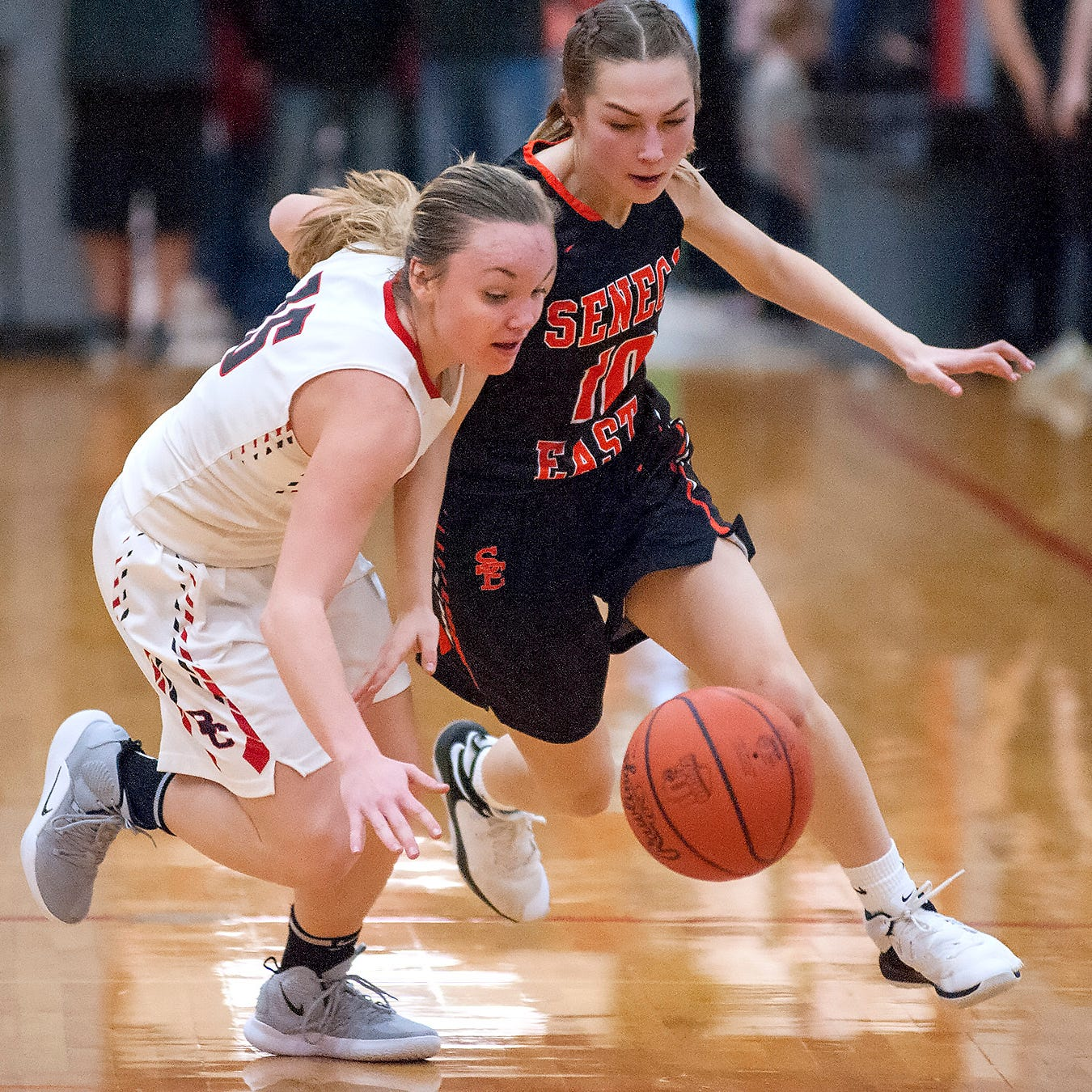 'We were going to learn something:' Buckettes' 13-game win streak snapped by Seneca East