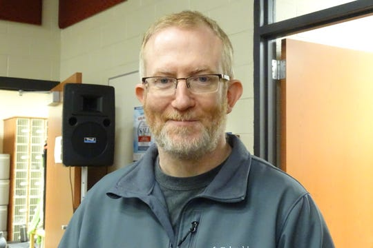 Mark Fisk is director of bands at Bucyrus High School.