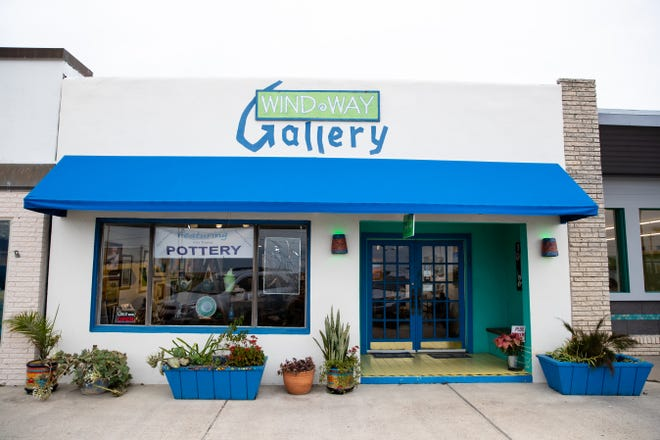 The Wind Way Gallery at 203 South Austin Street in Rockport.