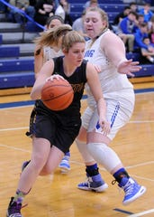 Unioto girls basketball's Cree Stulley earned the female Athlete of the Week award after recording seven points, eight rebounds, and four blocks in a 56-34 sectional final win over Logan Elm on Thursday.