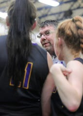 Unioto's coach Jeff Miller won the Coach of the Year award as he helped lead the Shermans to a 14-0 league record.