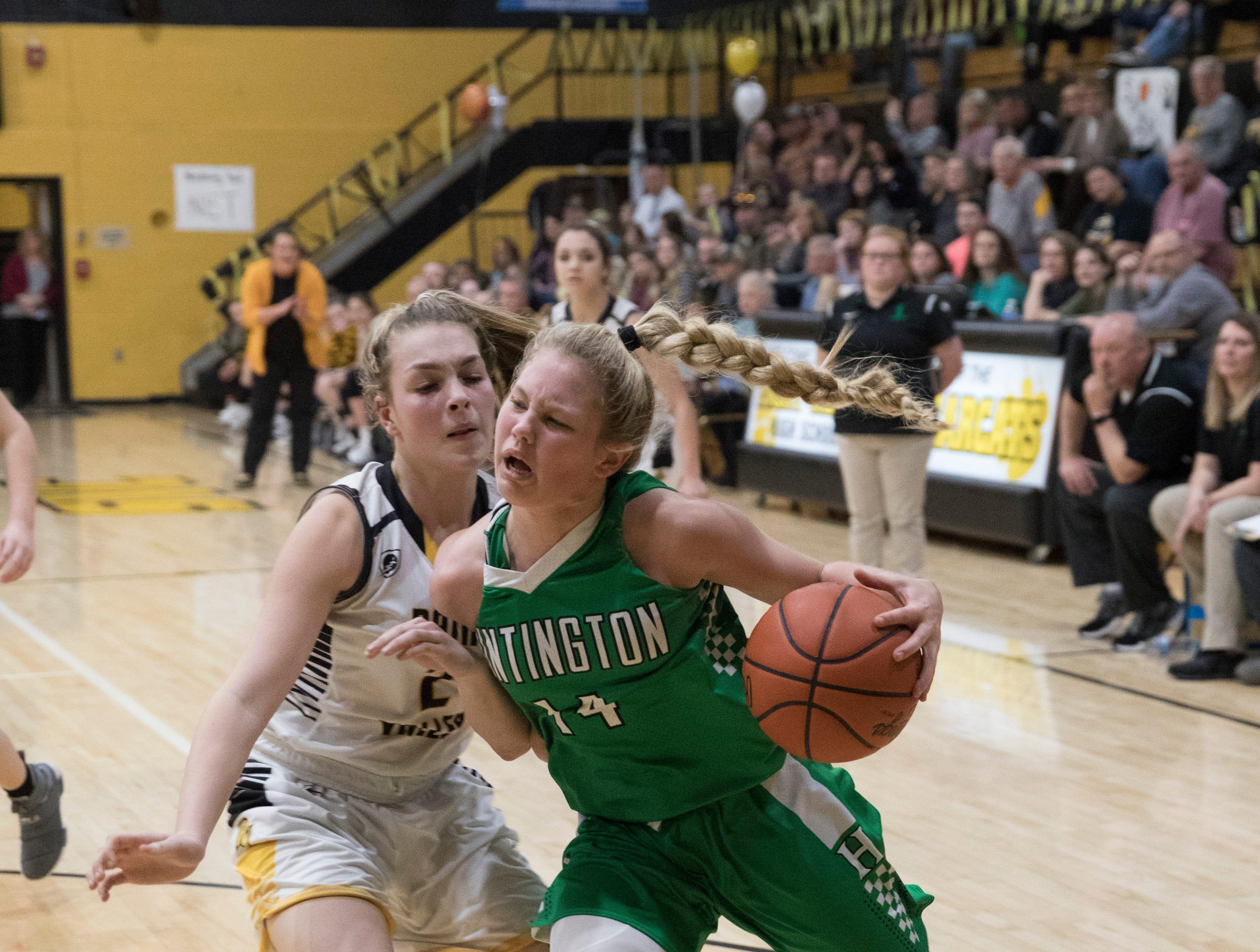 Huntington defeated Paint Valley 63-56 Thursday night in Bainbridge, Ohio.