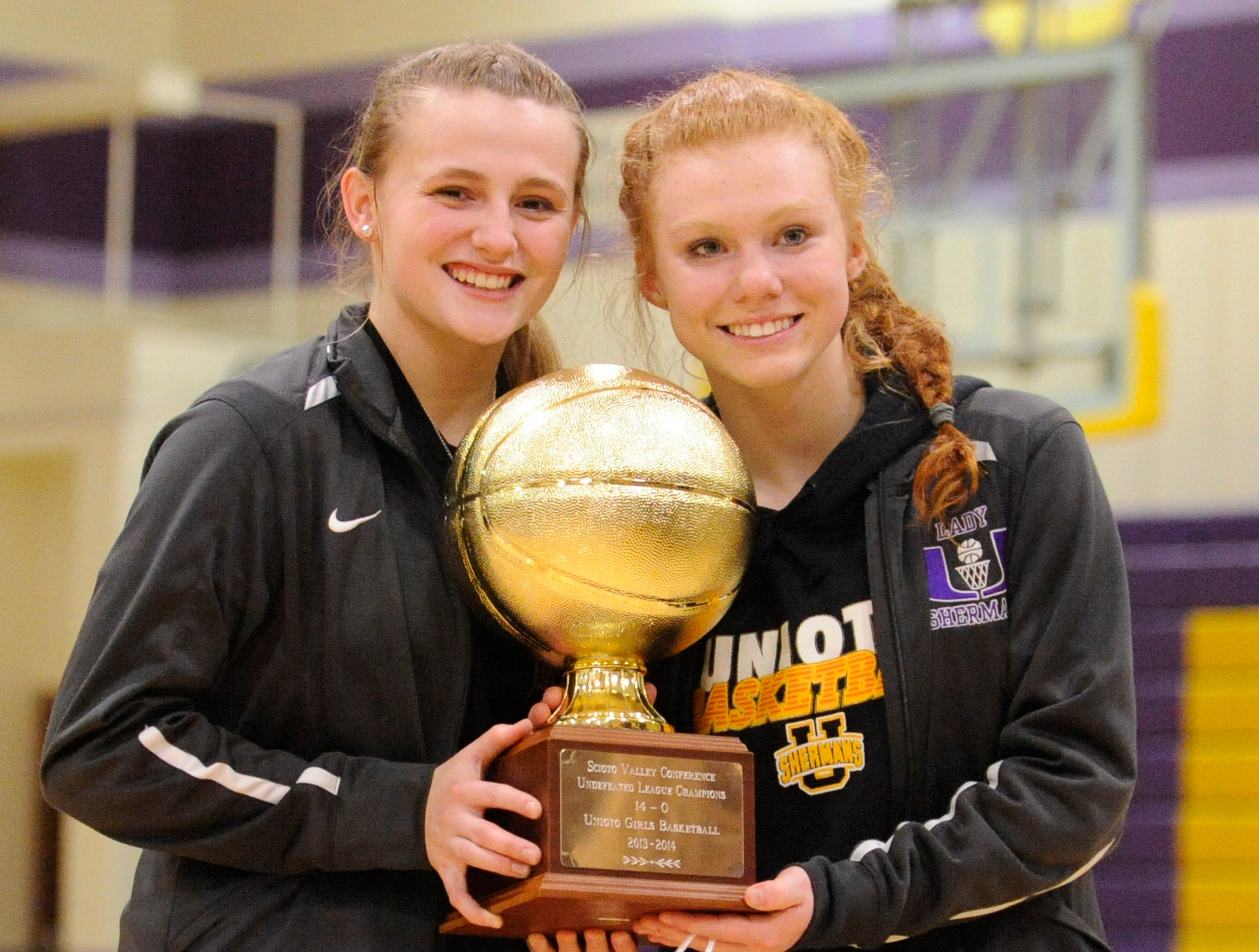 Unioto defeated Southeastern Thursday night 47-20 at Southeastern High School to clench the SVC gold ball for the 2018-2019 basketball season.