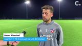 "FC Cincinnati goal scorer Nazmi Albadawi and goalkeeper Przemyslaw ""Titi"" Tytoń discuss the club's third and final preseason match for the Florida leg of preseason camp."