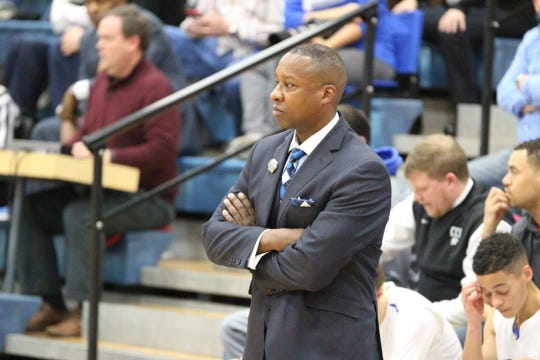 Cincinnati Christian head coach Carl Woods is 99-45 in five-plus seasons with the Cougars
