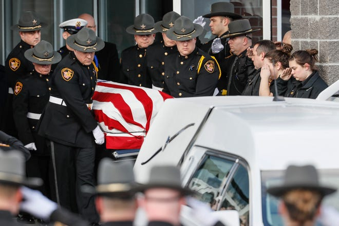 """Ohio state Sen. Cecil Thomas, D-North Avondale, said Sheriff's Deputy Bill Brewer might have lived if Ohio had a """"red flag"""" gun law in place."""