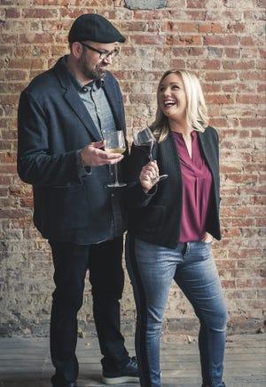 Matt and Kathleen Haws, owners of Ripple Wine Bar in Covington