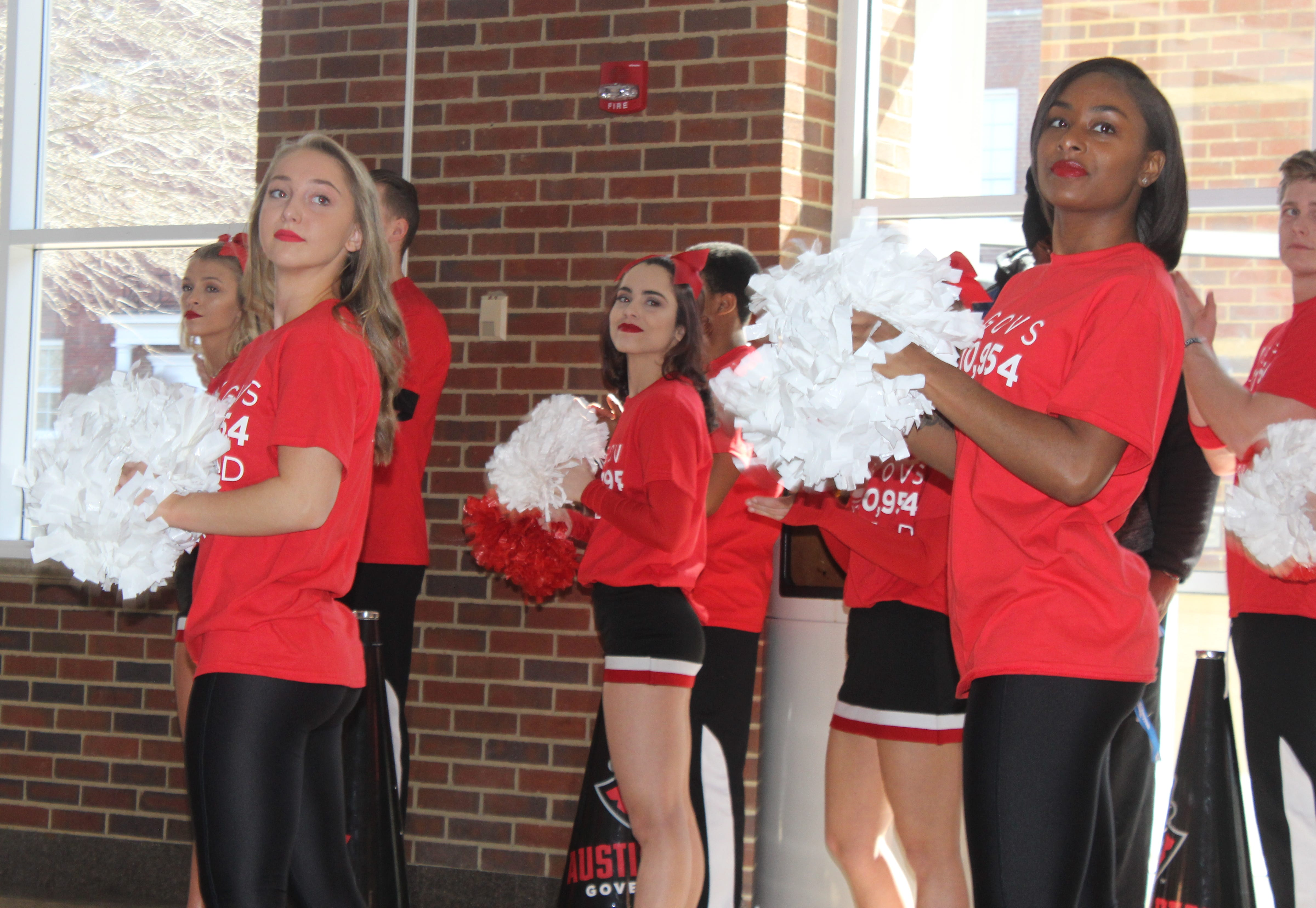 Austin Peay State University celebrated an enrollment milestone on Friday with a gathering to recognize the school's accomplishment of becoming the state's fastest growing public university.