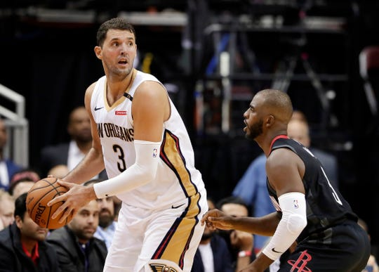 The New Orleans Pelicans dealt Nikola Mirotic to the Bucks.