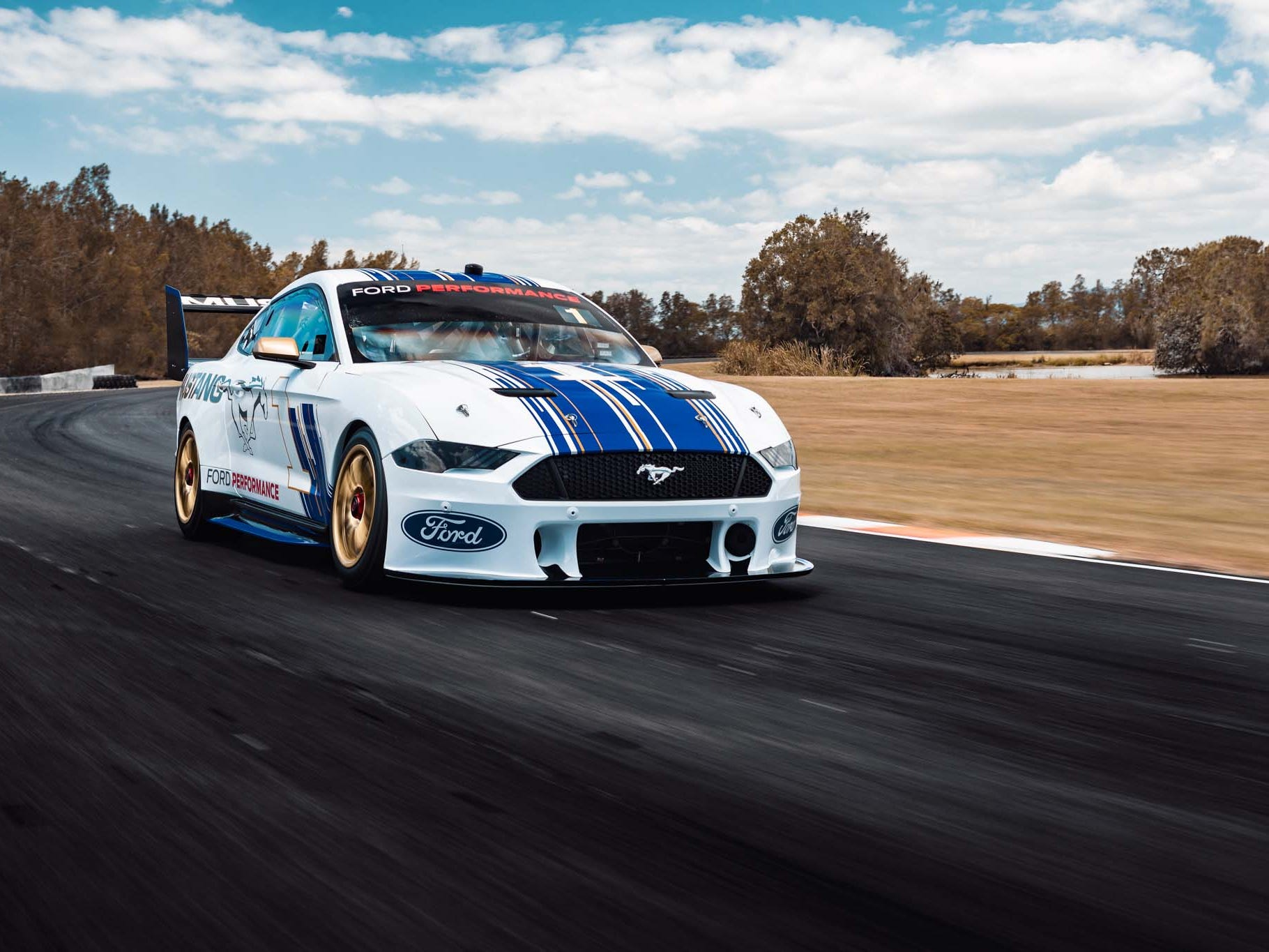In March Penske Racing will debut the new Ford Mustang Supercar for the Virgin Australian Supercar Series Down Under. The Mustang replaces the Ford Falcon that captured the title in 2018.
