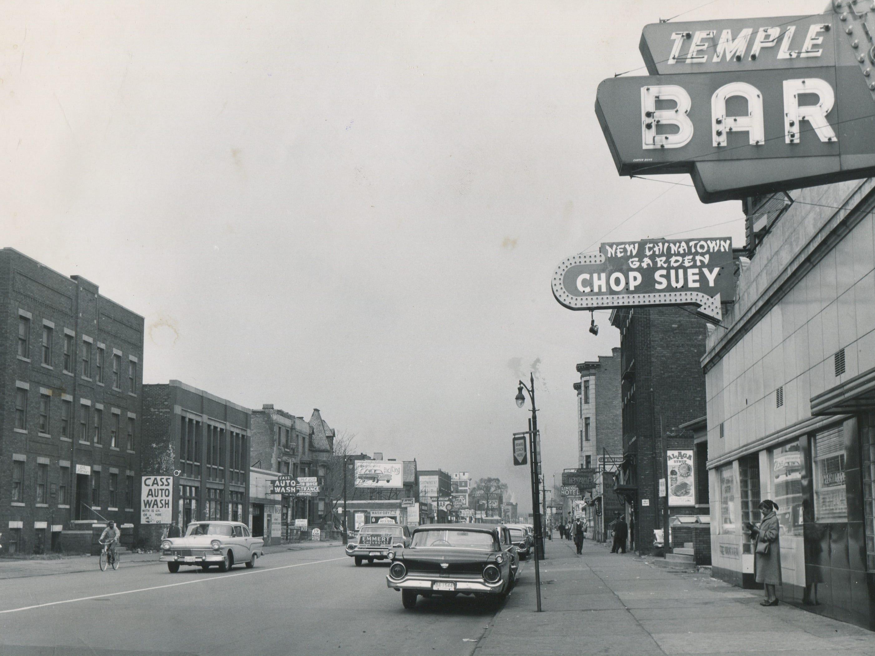 Detroit's Chinatown circa 1962