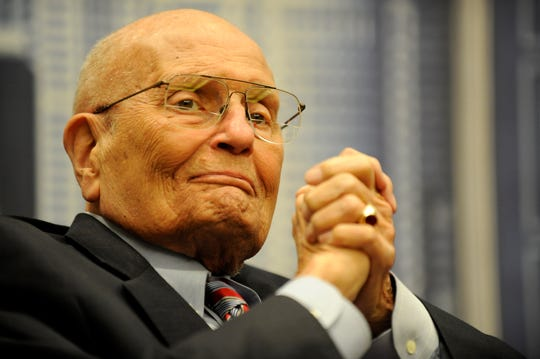 U.S. Rep. John Dingell, D-Dearborn, the longest-serving member of Congress, is seen in 2013.