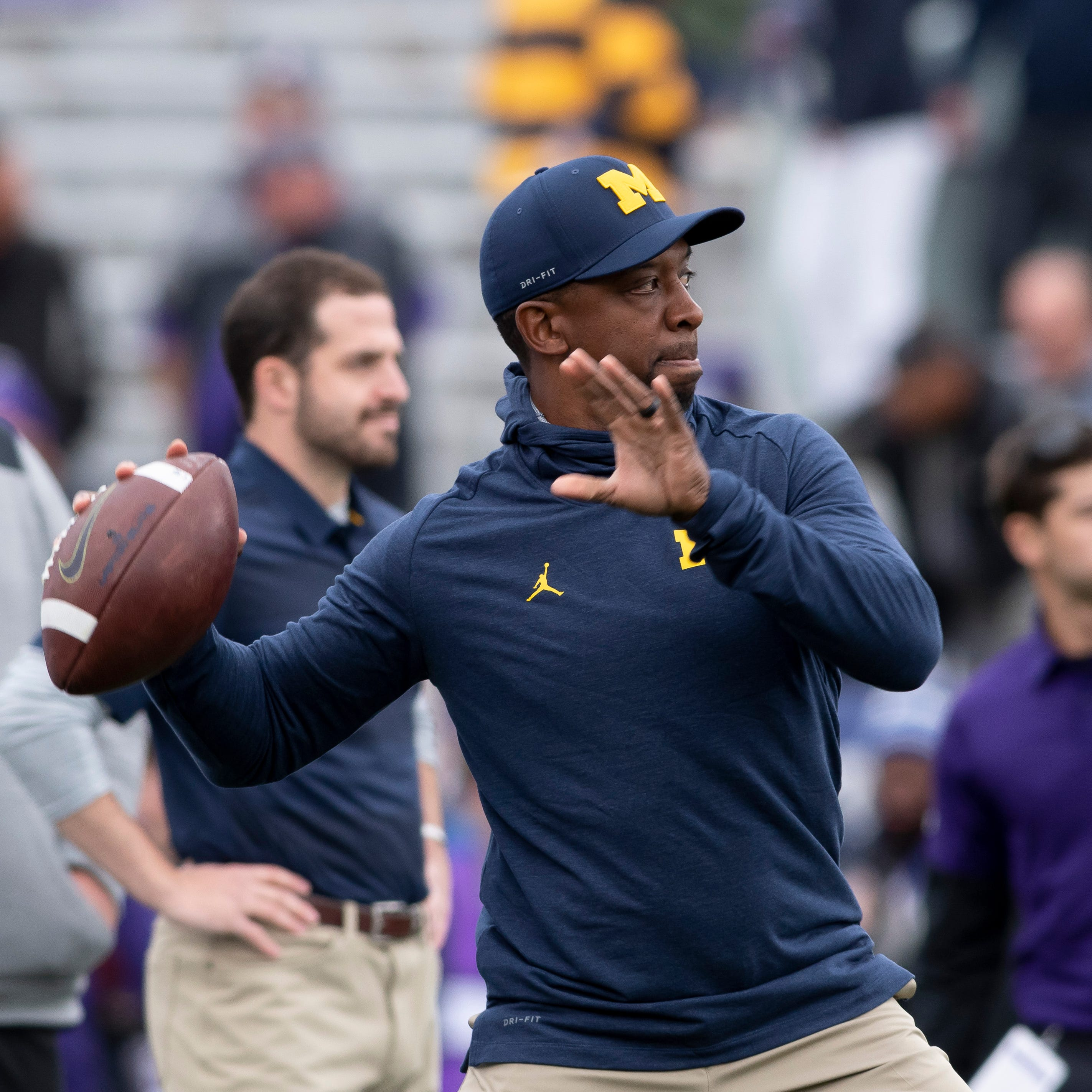 Report: Ex-UM assistant Pep Hamilton lands first HC gig, in the XFL