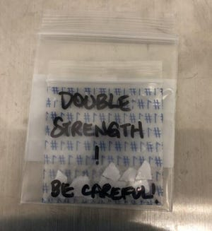 U.S. Customs and Border Protection officers at the Blue Water Bridge seized nearly 600 grams of Fentanyl in January.