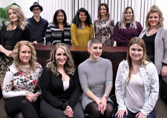 Eleven students recently graduated from the GST BOCES adult cosmetology program.