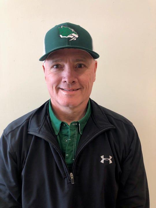 Fossil Ridge football coach Jeff Fulton.