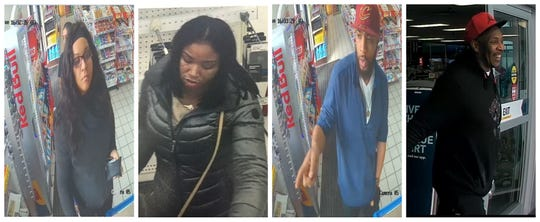 Four suspects believed to be involved in a fraud ring around Brown County.