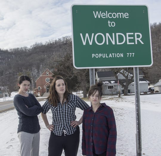 """A scene from """"Witches of Wonder,"""" a movie by John Gigrich about two young witches who accidentally send their sister back in time and try to rescue her, one of the selections in this year's 10th annual Door County Short Film Fest."""