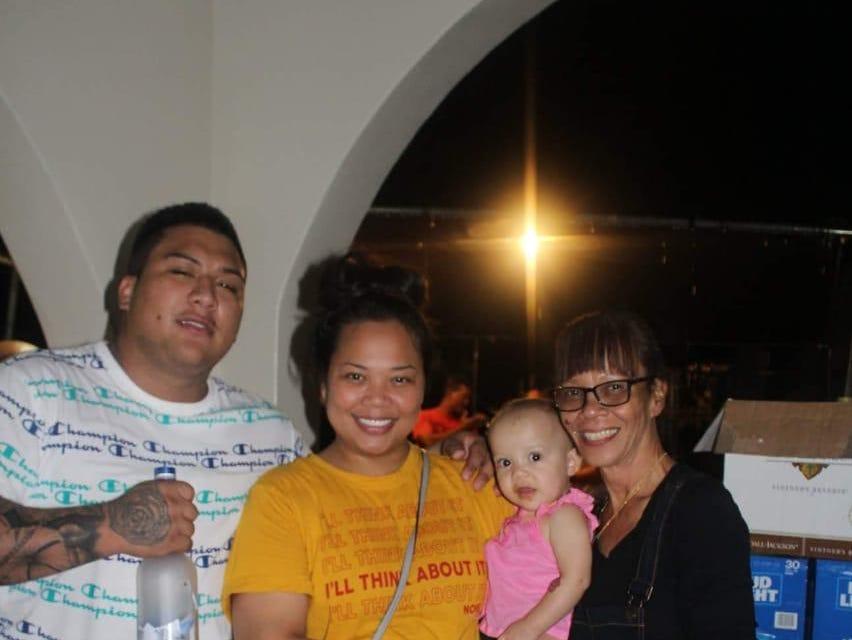 Deon Cruz, left, is shown in this undated photo.