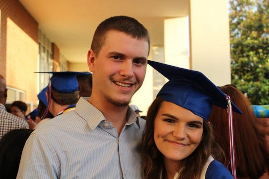 Kaylee Yohn and brother, Stephen Yohn.