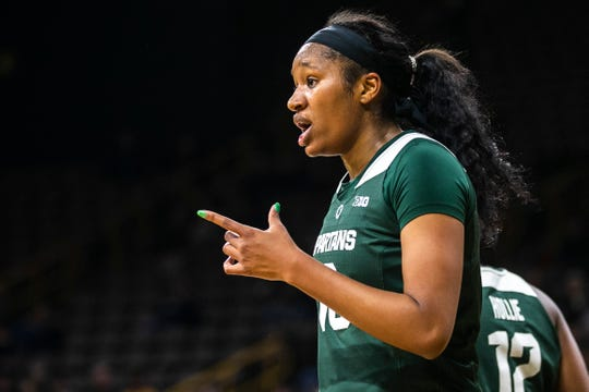 Sidney Cooks, who came out of Kenosha St. Joseph, started eight games and has played in 28 for Michigan State this season.