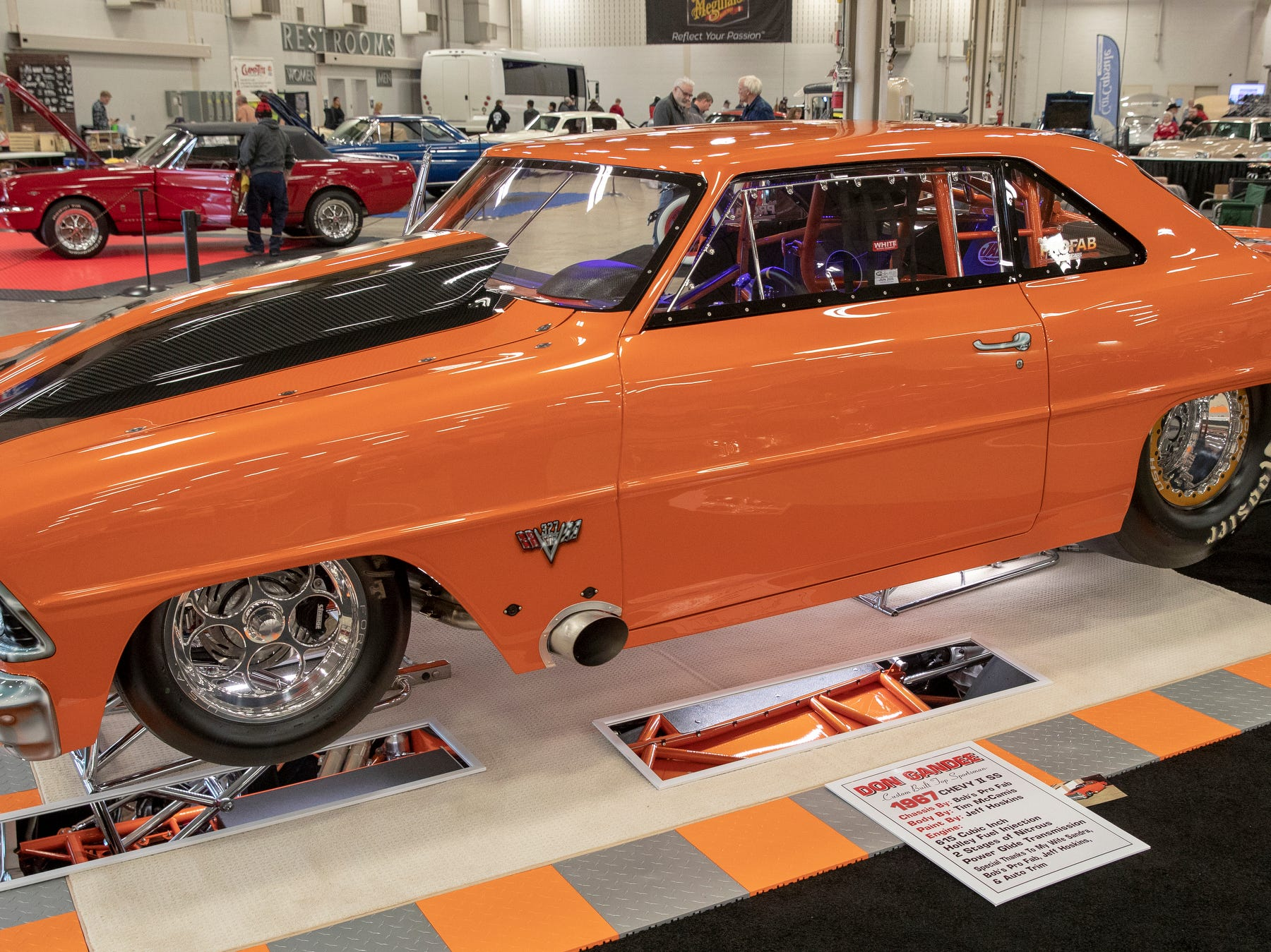 A 1967 Nova SS, at World of Wheels at the Indiana State Fairgrounds, Indianapolis, Friday, Feb. 8, 2019. The event runs through the weekend and features four big rooms of stock and heavily customized cars.