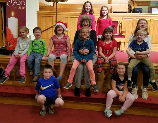 The children's choir is a big part of the ministry for young people at Aldersgate.