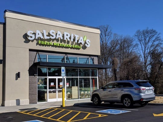 The new South Knoxville Salsarita's is opened at 7614 Chapman Highway, Suite 124.