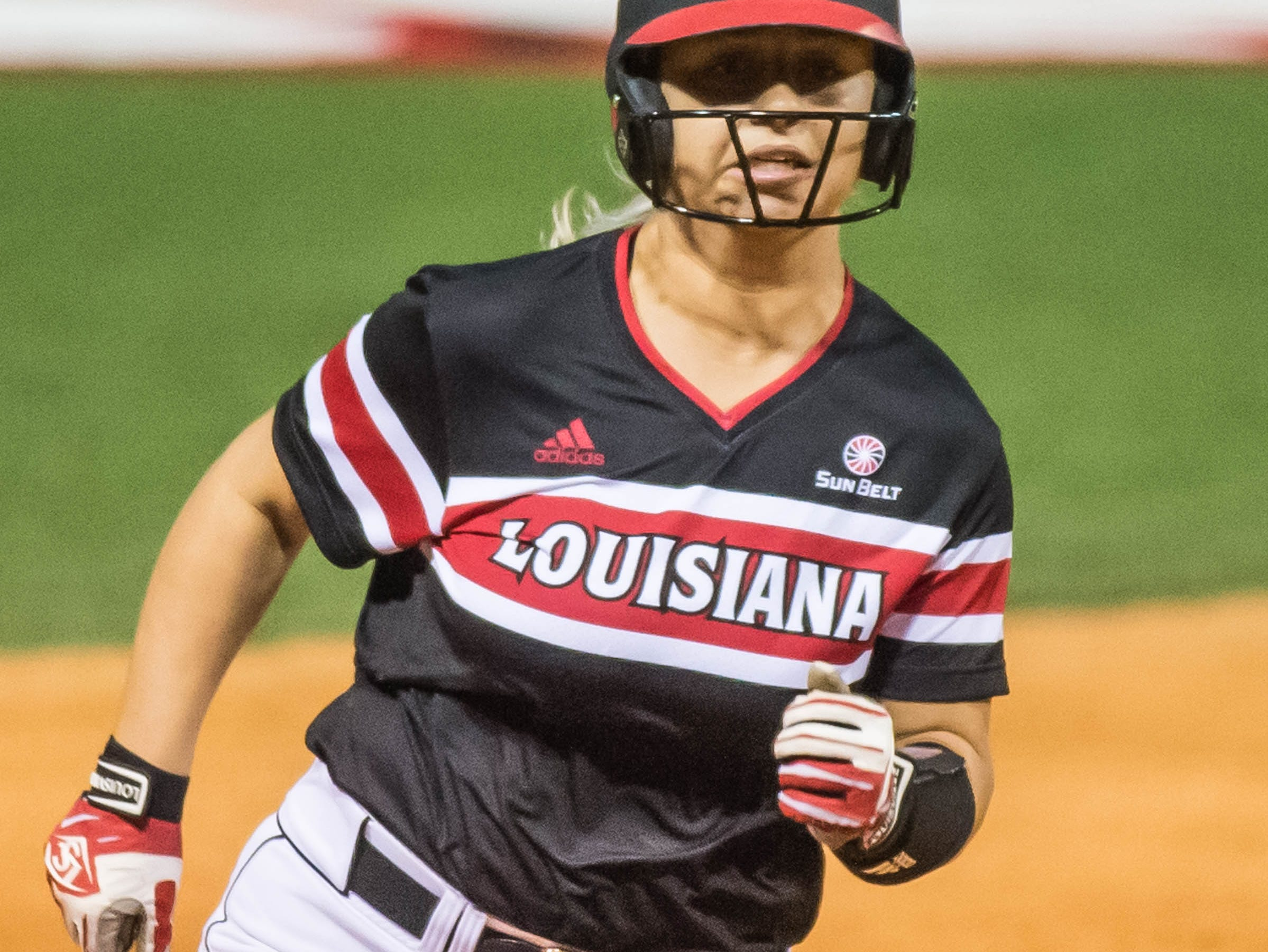 The UL Ragin' Cajuns play Fordham in the opening game of the 2019 softball season at Lamson Park on Thursday, Feb. 7, 2019.