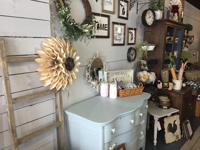 Heritage Home Accents & Decor recently expanded by about 700 square feet. Owners had begun setting up a monthly marketplace in the space Friday, Feb. 8, 2019.