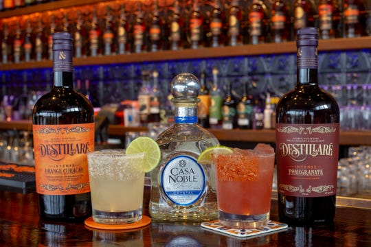 Love is in the air at Copper & Kings with a margarita and rosalita made with its new Destillaré artisanal potations.