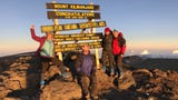 The Courier Journal's Kirby Adams and her family climbed MountKilimanjaro, Africa's highest mountain, and one of theSeven Summits.