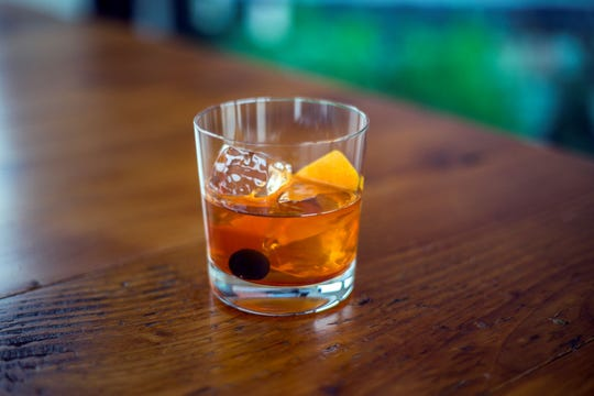 "Copper & Kings serves up an elevated cocktail with its ""Who Says Romance is Old Fashioned?"""