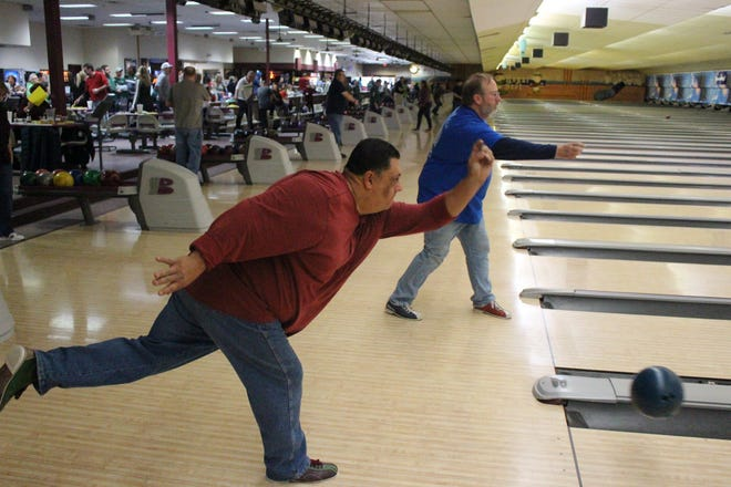 Leroy Chain Cancer Bowl held on January 27 at Royal Scot brought many smiles