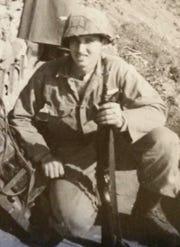 Korean War veteran Eddie Hawks served in the Army's 5th Regimental Combat Team.