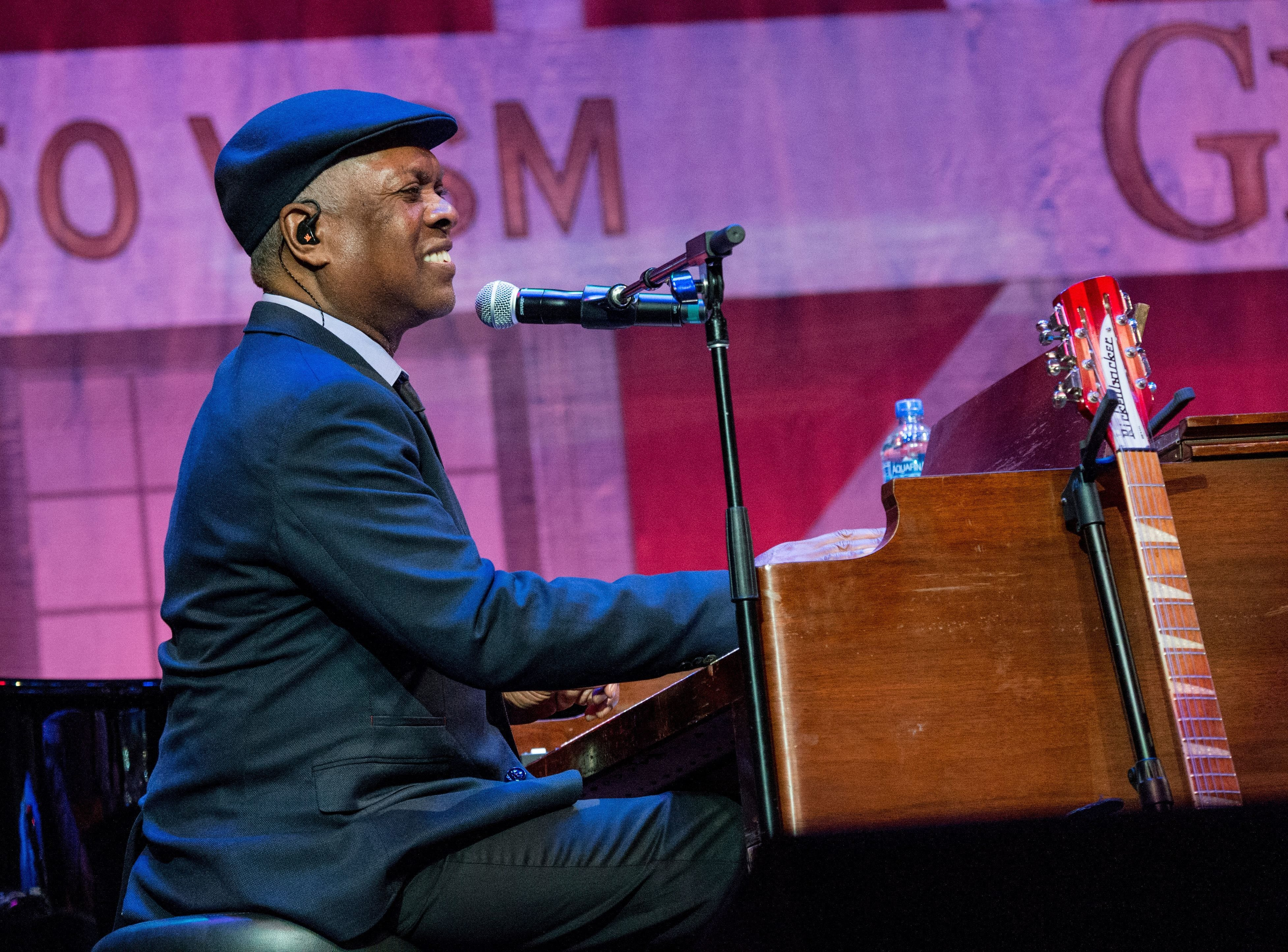 """Memphis music great Booker T. Jones plays Memphis in May's  """"Crystals & Castles Gala"""" at the Peabody Hotel on May 11, 2018."""