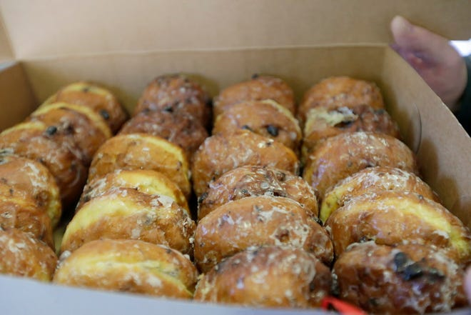 Paczki, the rich Polish pastry, is a Fat Tuesday tradition.