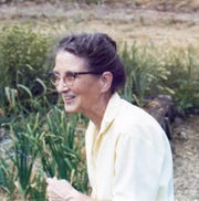 Aroline Schmitt advanced the practice of sustainable forestry and is credited with helping to protect the Flambeau State Forest and Menominee Tribal Forest.