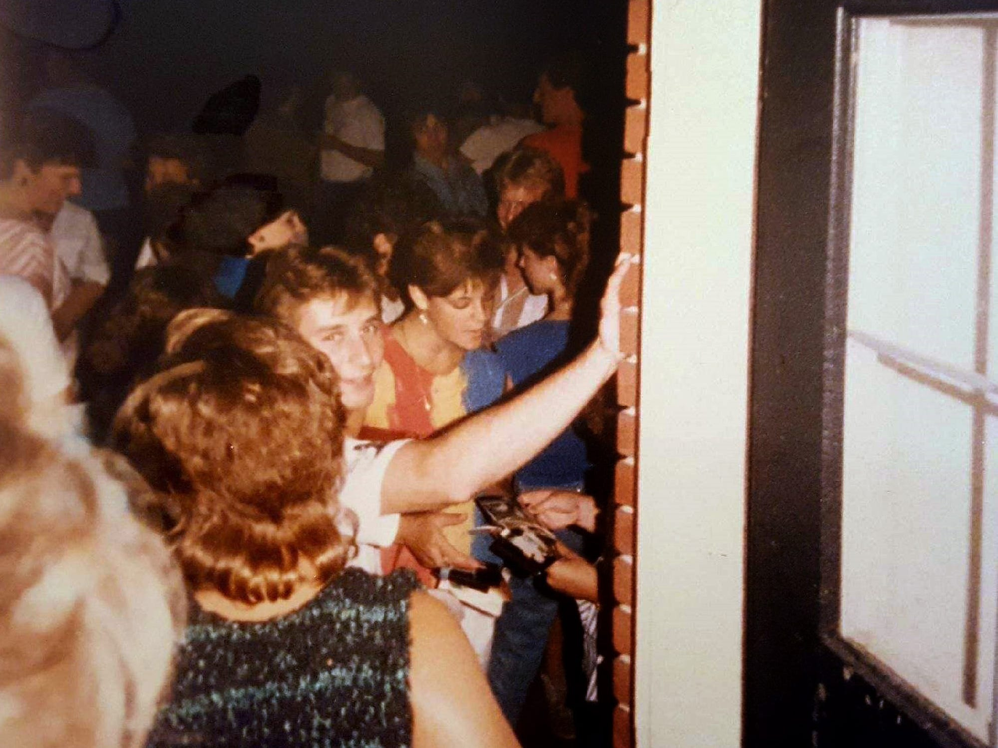 Young revelers spilled from the O'Neill home into the backyard at one of the crowded parties there.
