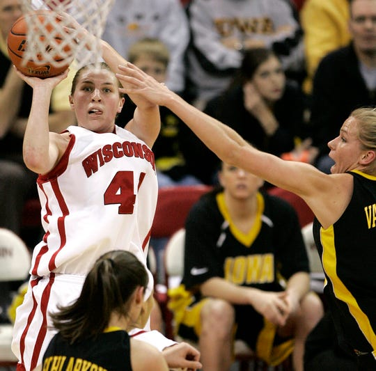 Jolene Anderson, the all-time leading scorer in Wisconsin history, also hailed from South Shore. With Iowa's Megan Gustafson, the tiny Wisconsin high school with 53 students now holds two program career scoring records in the Big Ten.