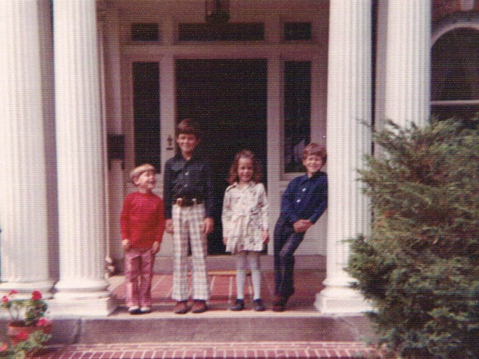 The O'Neill family moved into their new home on HiMount Boulevard in 1971. This photo, taken around that time, shows the four children Andy (from left), Mike, Jen and Matt.