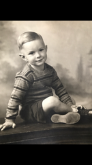 Born on November 6, 1935 in his grandmothers house in Mukwonago, Ken Roberts lived in Wales until the age of four.