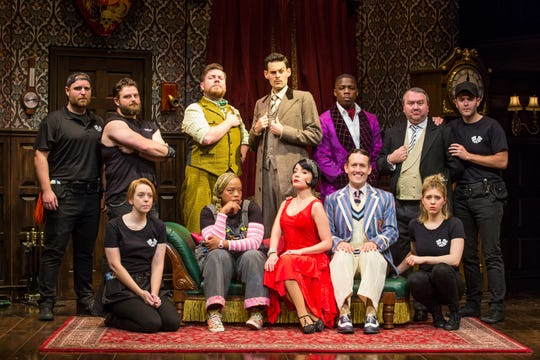 """The national tour of """"The Play That Goes Wrong"""" comes to Milwaukee as part of the 2019-'20 Broadway at the Marcus Center season."""