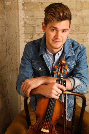 """Violinist Blake Pouliot performs Bruch's """"Scottish Fantasy"""" Feb. 8 and 9 with the Milwaukee Symphony."""