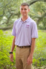 LSU College of Agriculture sophomore Noah Harper is from Franklin Parish.