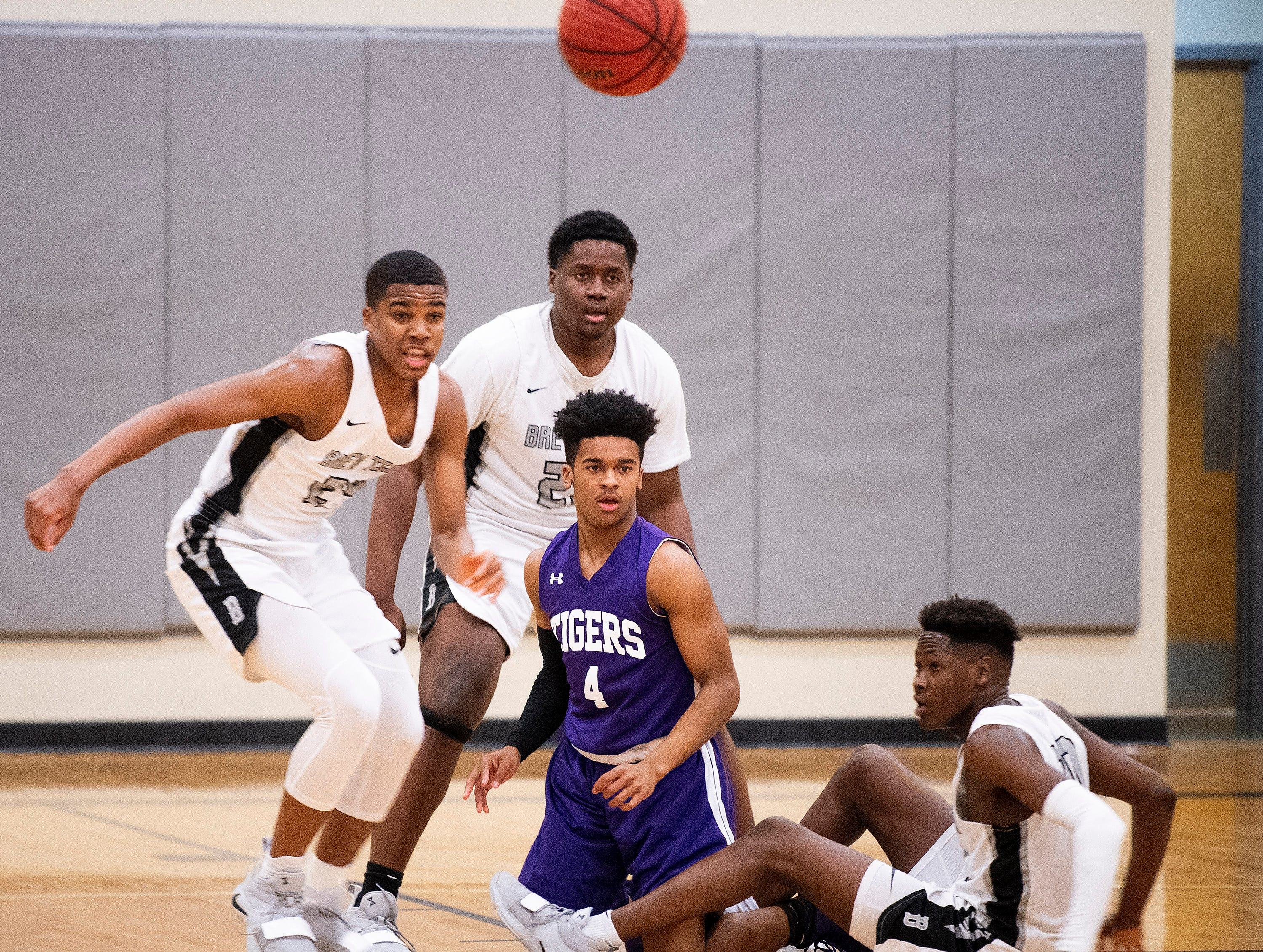 Brewbaker Tech against Tallassee at the BrewTech campus in Montgomery, Ala., on Thursday February 7, 2019.