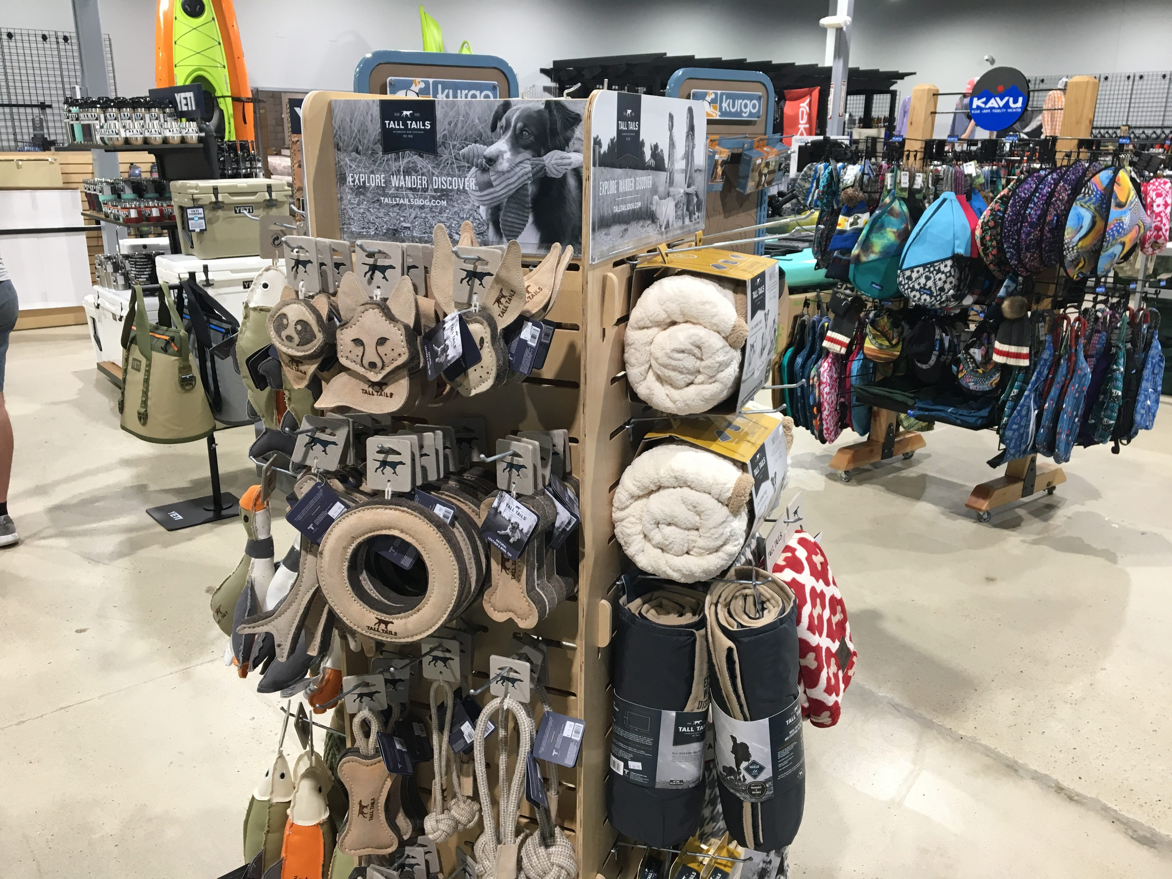 Hook 1 outfitters in Murfreesboro sells outdoor gear for canines.