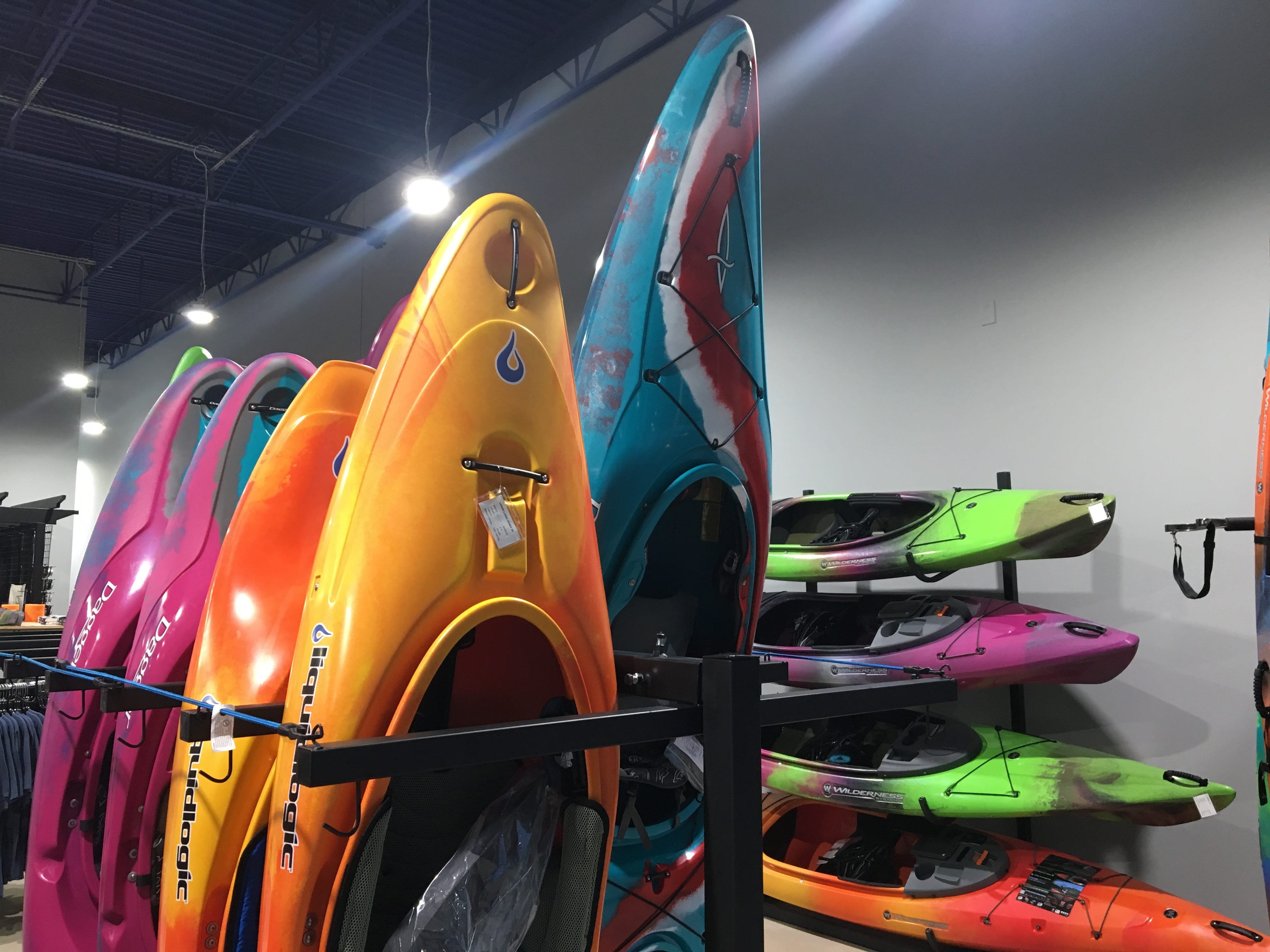 Whitewater enthusiasts will find top-of-the-line kayaks at Hook 1 outfitters in Murfreesboro.